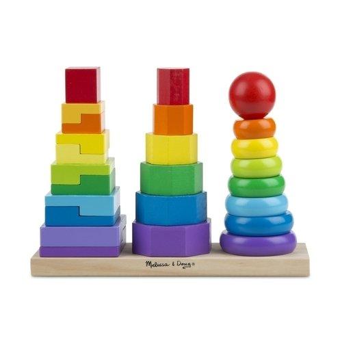 Купить Геометрическая пирамидка, Melissa & Doug, Развлекательные и развивающие игрушки