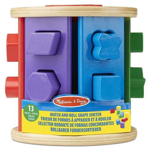 Купить Игра Первые навыки. Барабан-сортировщик , Melissa & Doug, Развлекательные и развивающие игрушки