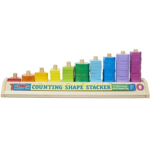 Купить Деревянные счеты Разложи по цветам , Melissa & Doug, Развлекательные и развивающие игрушки