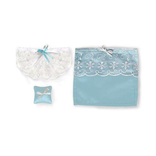 Набор текстиля для дома Голубое небо набор яигрушка для интерьера кукольного домика обои и ламинат в ассортименте