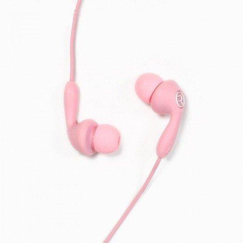 Гарнитура проводная RM-505, розовая