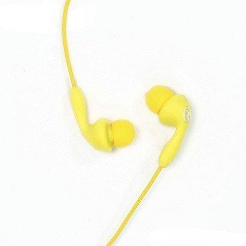 Гарнитура проводная RM-505, желтая