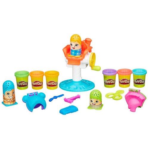 Купить Набор пластилина Сумасшедшие прически , Hasbro, Наборы для творчества