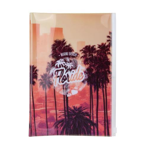 """Обложка для паспорта """"Californie"""", оранжевая цена в Москве и Питере"""