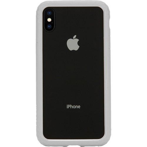 Чехол защитный Frame Case для iPhone Xs Max, серебряный цена