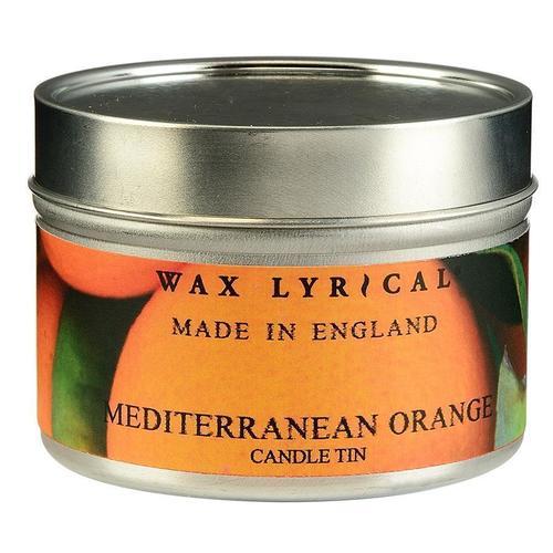 Свеча ароматическая Солнечный апельсин ароматическая свеча wax lyrical лён в стеклянной банке