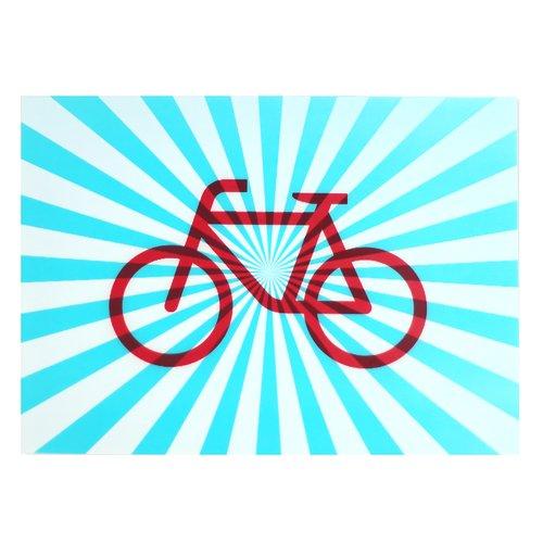 цена на Открытка стерео-варио Велосипед
