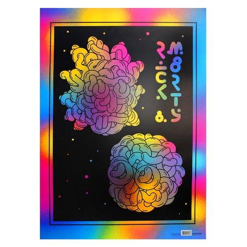 """Постер Рик и Морти """"Молекулы"""" А2"""