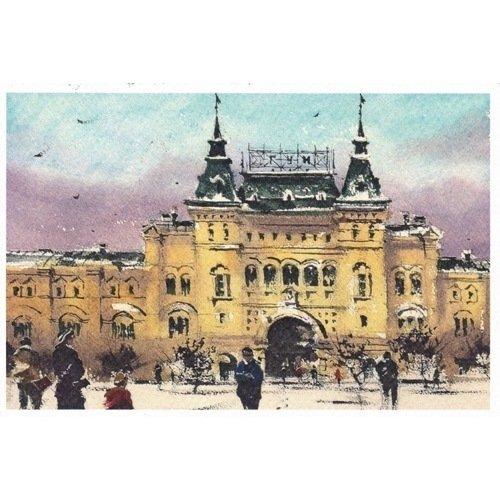 Открытка «ГУМ, зима»
