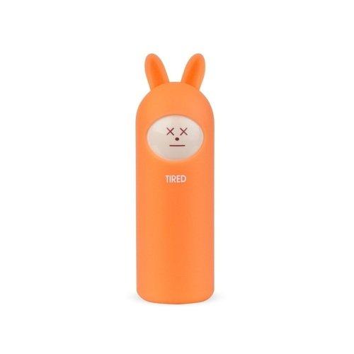 Фото - Внешний аккумулятор Neo Rabbit Tired, 5000 мАч, пластик, оранжевый внешний аккумулятор neo rabbit love 5000 мач розовый