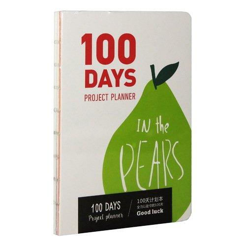 """Планер недатированный """"100 days. Fruits"""" А5, 128 стр."""
