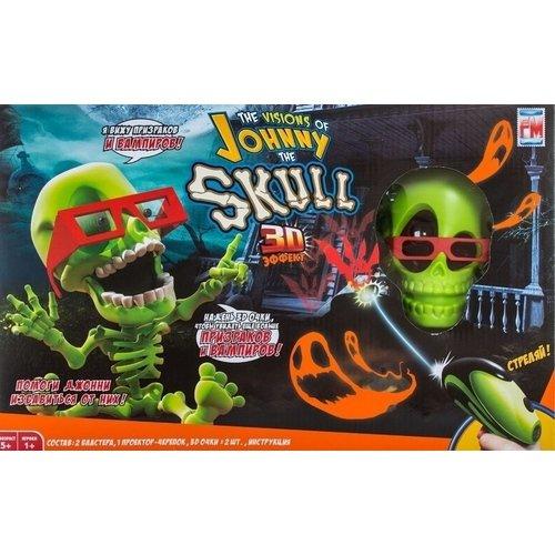 Купить Проекционный 3D-тир Джонни-Черепок с 2 бластерами, Johnny the Skull, Интерактивные игрушки