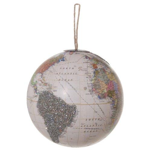 цена на Елочный шар с блестками, 10 см
