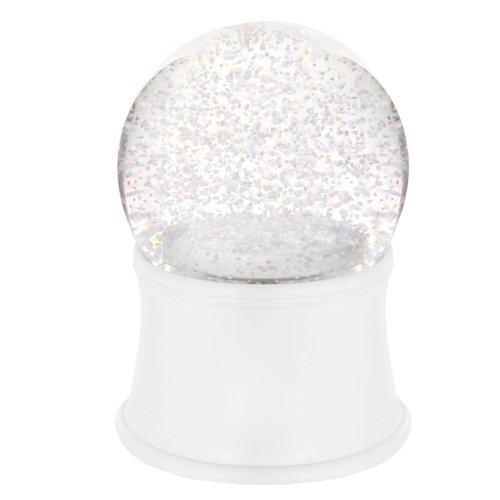 Снежный шар с музыкой и снежинками, 10 см снежный шар сима ленд дед мороз прячет подарки 14x10 5x10 5cm музыкальный 2005341