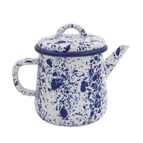 """все цены на Эмалированный чайник """"Blue on White"""", 1 л онлайн"""