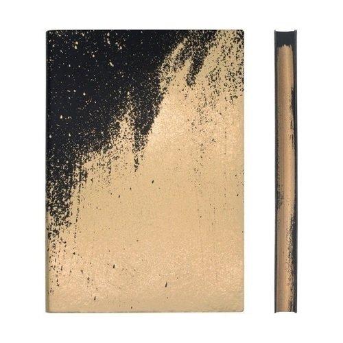"""Блокнот нелинованный """"Signature Paint Art Plain"""" А5, 88 листов, золотистый"""