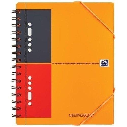 Бизнес-тетрадь International MeetingBook A5+, 80 листов в линейку еж стайл тетрадь a little sleep любовь в линейку 38 листов