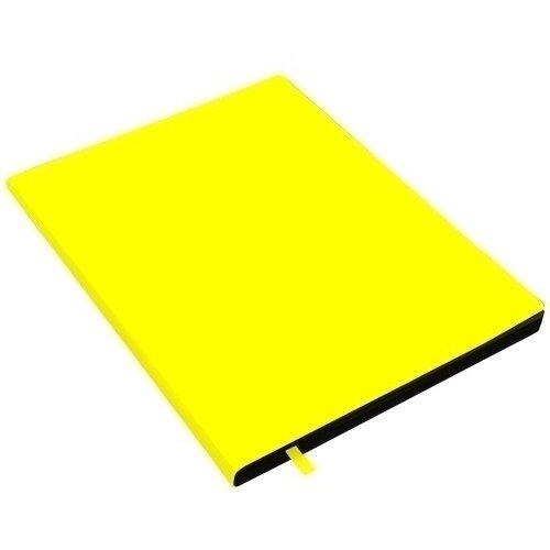 """Тетрадь """"New Wave. Желтый неон"""" А4, 80 листов, в клетку"""