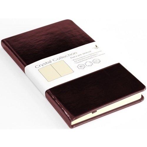 Записная книжка Crystal Collection, 96 листов, черешневый лес listoff записная книжка crystal collection цвет желто зеленый 96 листов кзкк5962599