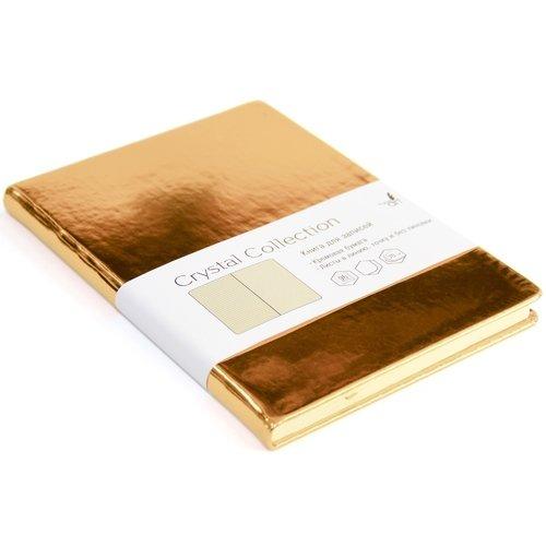 Записная книжка Crystal Collection А5, 96 листов, брызги шампанского listoff записная книжка crystal collection цвет желто зеленый 96 листов кзкк5962599
