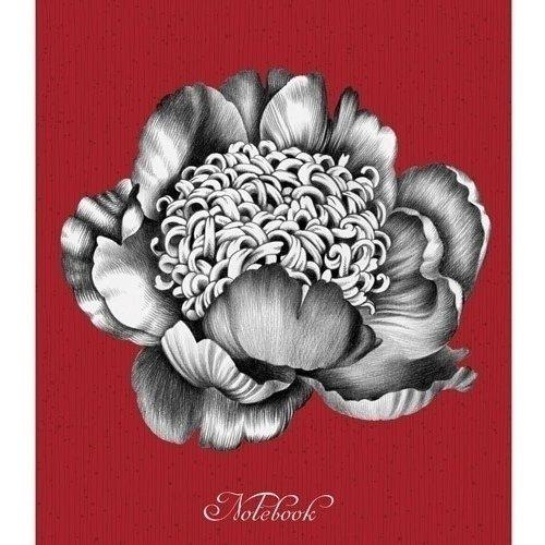 Записная книжка Прекрасный пион А5-, 120 листов