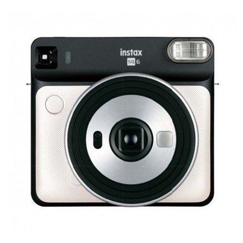 Фото - Фотоаппарат Instax SQ 6 Pearl White EX D боди для девочки мамуляндия зимние узоры цвет молочный 18 1206 размер 62