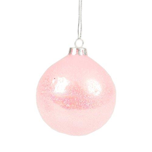 Новогодняя игрушка Pink Sparkly игрушка