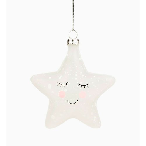 "цена Новогодняя игрушка ""Sweet Dreams Speckled Star"" онлайн в 2017 году"