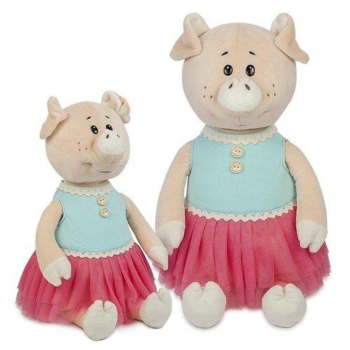 """Мягкая игрушка """"Свинка Даша в Ярком Платье"""", 28 см"""