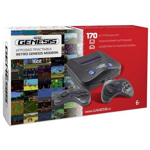 Игровая приставка Retro Genesis Modern , 170 встроенных игр игры для игровой приставки denn