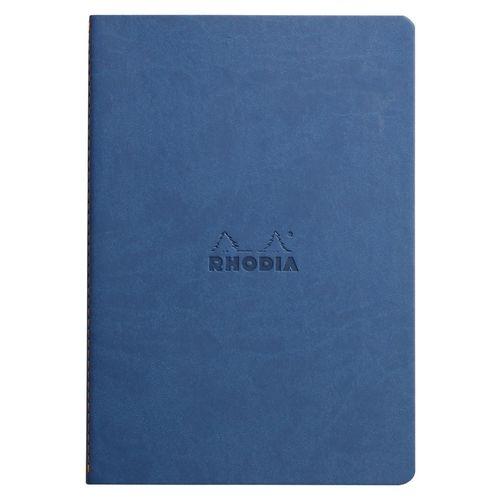 Блокнот Rhodiarama А5, 32 листа, в точку, сапфировый блокноты artangels блокнот ангелы хранители дома 12х17