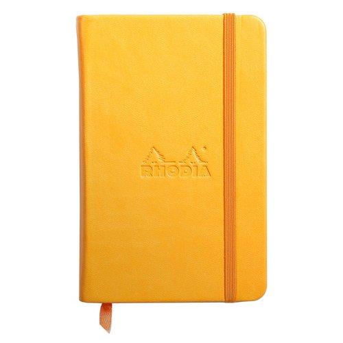 """Блокнот """"Rhodiarama"""" А6, 96 листов, в линейку, бледно-желтый цена и фото"""