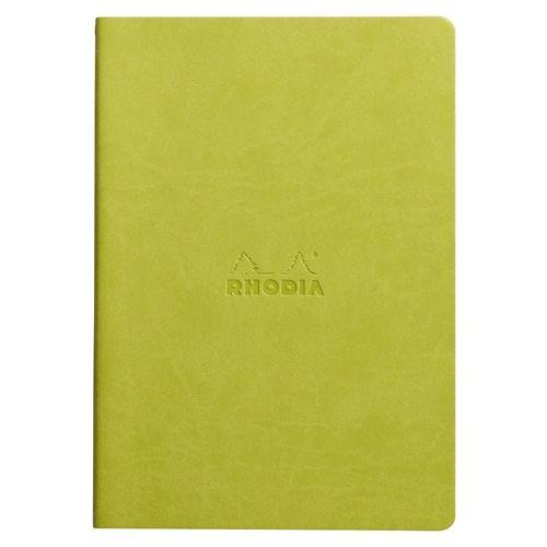 Блокнот Rhodiarama А5, 32 листа, в точку, светло-зеленый блокноты artangels блокнот ангелы хранители дома 12х17