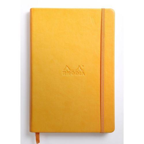 """Блокнот """"Rhodiarama"""" А5, 96 листов, в линейку, бледно-желтый цена и фото"""