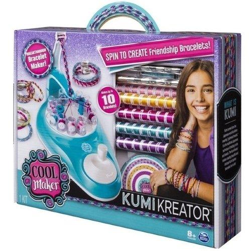 Купить Студия для плетения браслетов и фенечек Kumi Kreator , Spin Master, Наборы для творчества