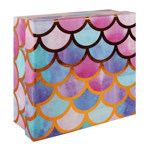 """Коробка подарочная """"Волны акварель"""", 15 х 6,5 см"""