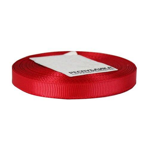 Лента репсовая, 10 мм, красная (цена за 1 м) диакнеаль авен цена