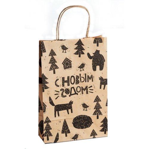 Пакет бумажный Лес 1 цена