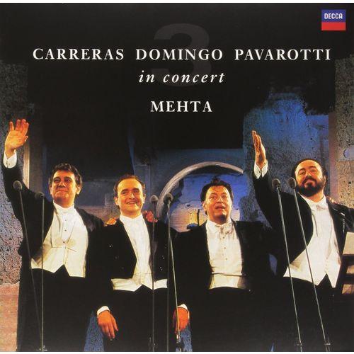 Фото - Luciano Pavarotti, Placido Domingo, Jose Carreras, Zubin Mehta - The Three Tenors плачидо доминго placido domingo best domingo 100 6 cd
