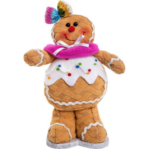 Мягкая игрушка Пряничная девочка SPP-13-W игрушка новогодняя мягкая mister christmas пряничная девочка высота 13 см