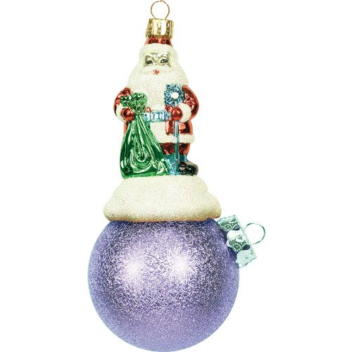 Украшение Дед Мороз на шареBD 60-306, 11 см украшение дед мороз на шаре bd 60 625 201 11 см