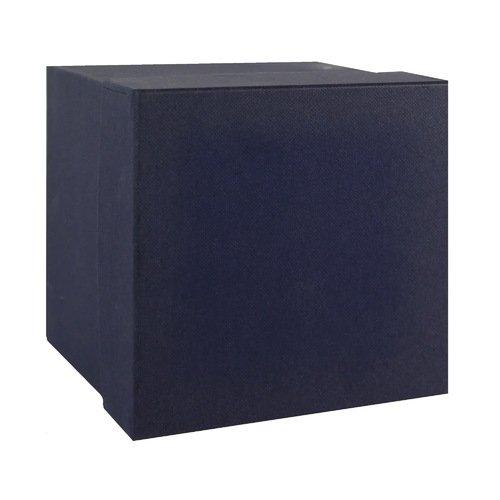 Подарочная коробка, синяя, 19 х 12 х 6 см подарочная коробка лимоны 19 х 12 5 х 8 см