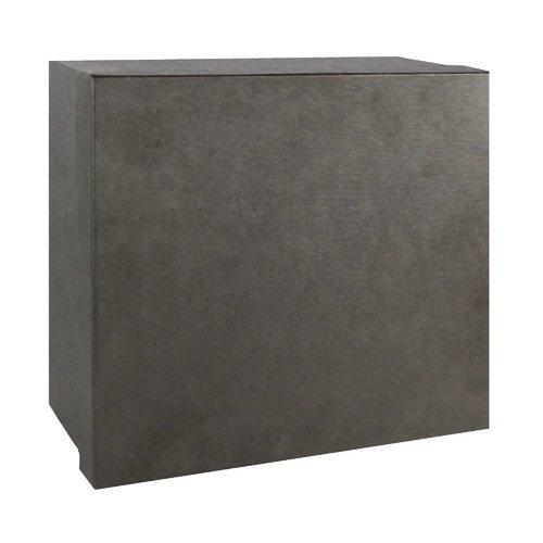 Подарочная коробка, черная, 20 х 20 х 10 см коробка подарочная veld co свадебный бабочки цвет слоновая кость 18 х 18 х 26 см