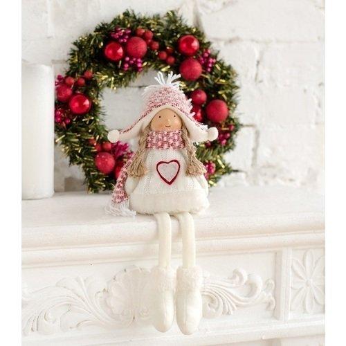 """Интерьерная кукла """"Девочка-снежинка"""", 40"""
