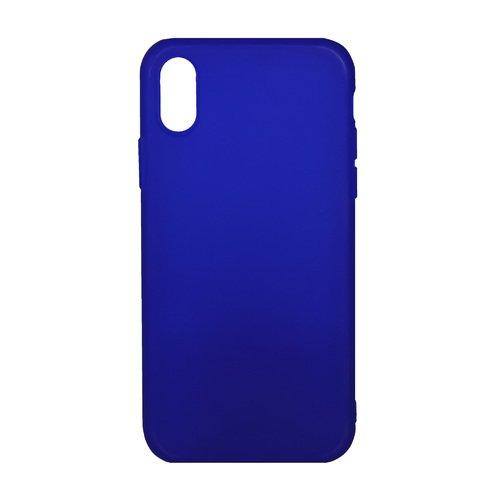 Чехол для iPhone X, синий абрикосовое дерево шаблон мягкий тонкий тпу резиновая крышка силиконовый гель чехол для lg k8