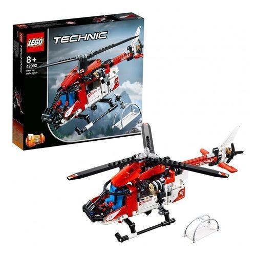 Конструктор Technic Спасательный вертолёт 42092 lego technic 42092 конструктор лего техник спасательный вертолёт