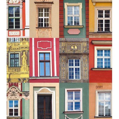 Ежедневник недатированный Городской стиль. Архитектурные акценты, А5, 128 листов ежедневник listoff графика стиль и цвет а5 128 листов