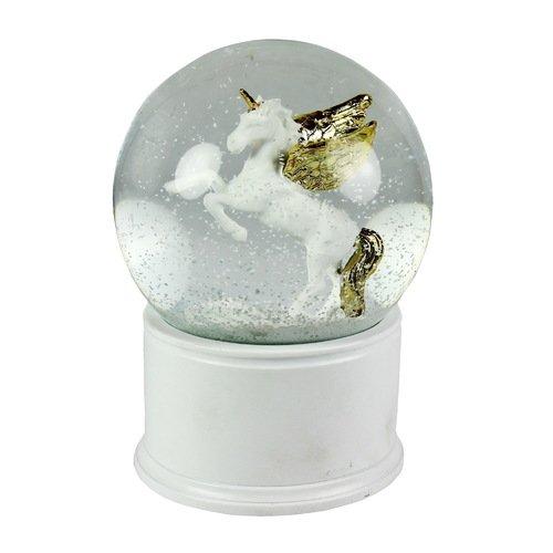 Снежный шар Золотой единорог цена