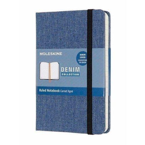 Блокнот Limited Edition Denim Pocket Antwe, 192 стр., в линейку, 90 x 140 мм flap button pocket stripe collar denim jacket