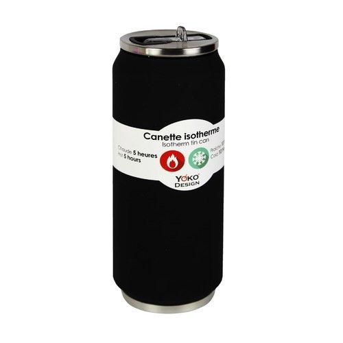 Банка-термос Isotherm Tin Can, 500 мл, черная банка 11х7 5х12 5 см 500 мл nouvelle банка 11х7 5х12 5 см 500 мл